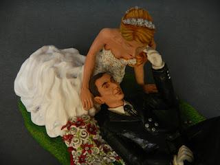 cake topper più belli ritratti eleganti artistici personalizzati milano orme magiche
