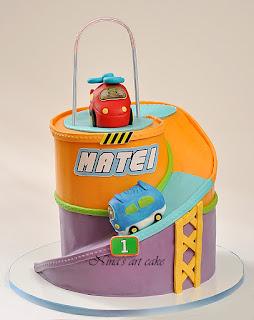 Tort aniversar pentru Matei