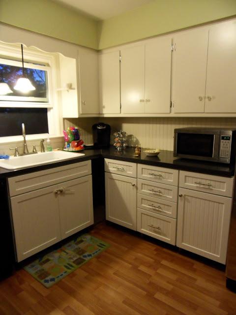 Kitchen Renovation White Cabinets