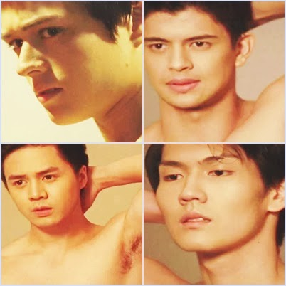 Enrique Gil, Sam Concepcion, Rayver Cruz, Skye Yang, Randy See on Metro Magazine Body Issue (Video)