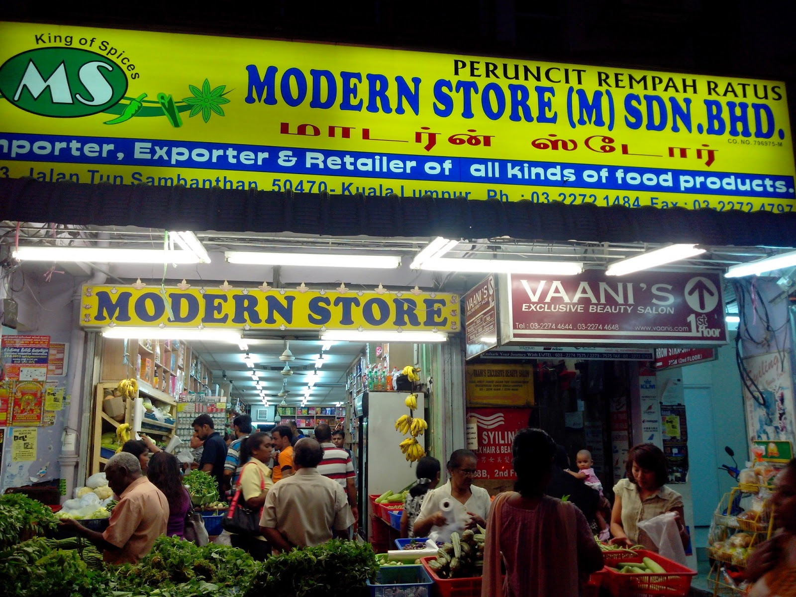 Modern Stores (Indian Grocery Shop)