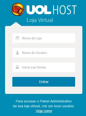 uol host montar loja virtual passo a passo