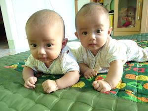 Twins: Aruna & Veda
