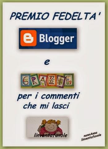 Premio Fedeltà Blogger