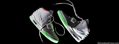 Nike Air Yeezy 2 Facebook Covers