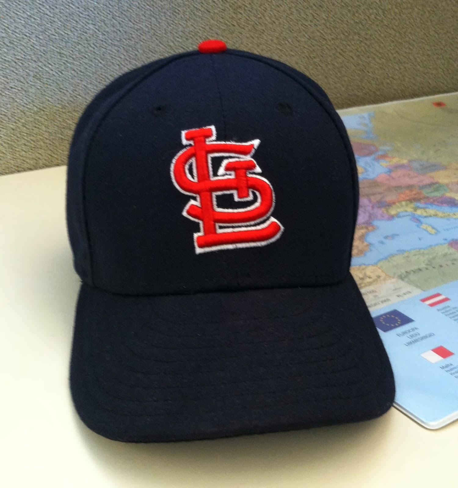 St. Louis Cardinals Road Cap 1992-2012  Sometimes Road Cap 2013 468ca749e77