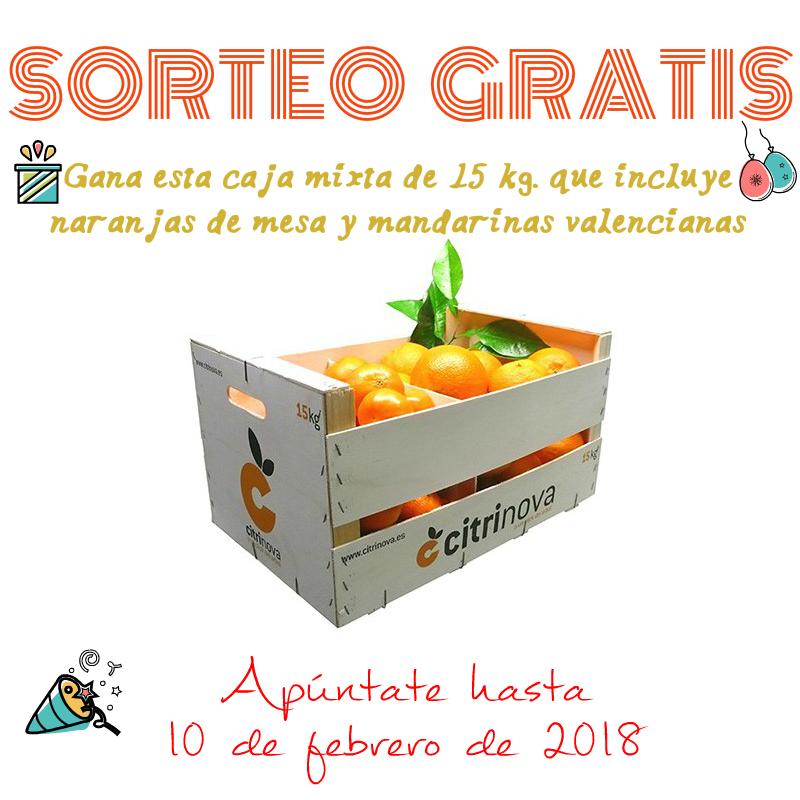 Sorteo: Caja de clementinas y naranjas