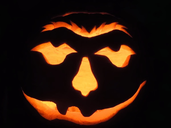 Halloween pumpkin design idea