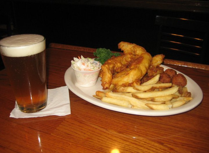 Village tavern and grill for All you can eat fish fry