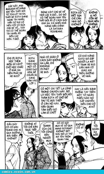 Detective Conan - Thám Tử Lừng Danh Conan chap 512 page 7 - IZTruyenTranh.com
