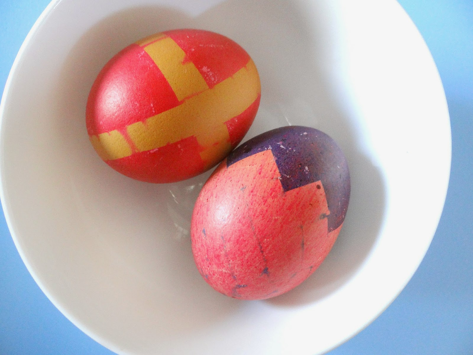 Scotch Magic Tape, Scotch Magic Day Competition, Easter Dyed Eggs