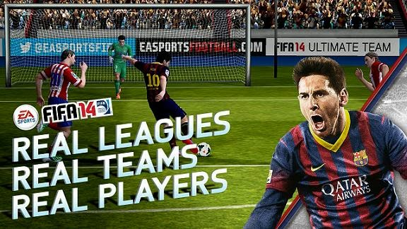 FIFA 14 by EA SPORTS™ Free Android Game