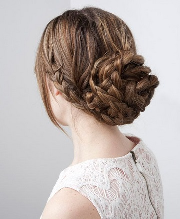 Peinados Con Trenzas Recogidas - Más de 1000 ideas sobre Trenzas Recogidas en Pinterest Peinado