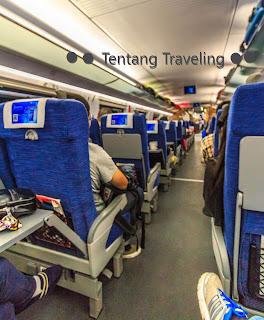 High speed train di china