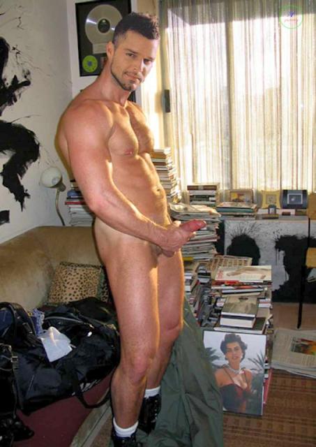 Ricky Martin Naked S