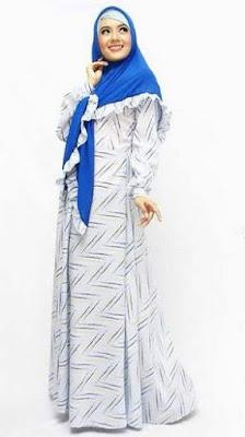 Baju muslim sifon untuk wanita trendy image