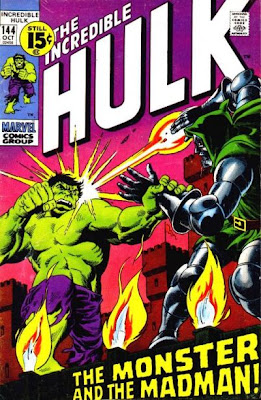 The Incredible Hulk #144, Dr Doom
