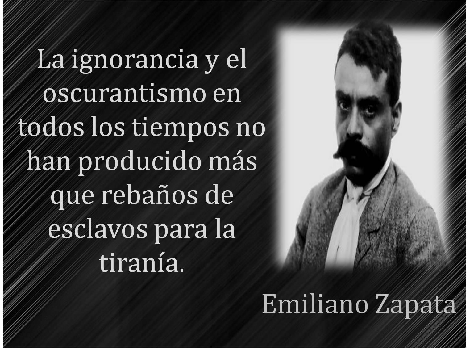 Diálogos con acontecimientos, predicciones, anécdotas y agenda del  año 2015 - Página 3 Emiliano-zapata