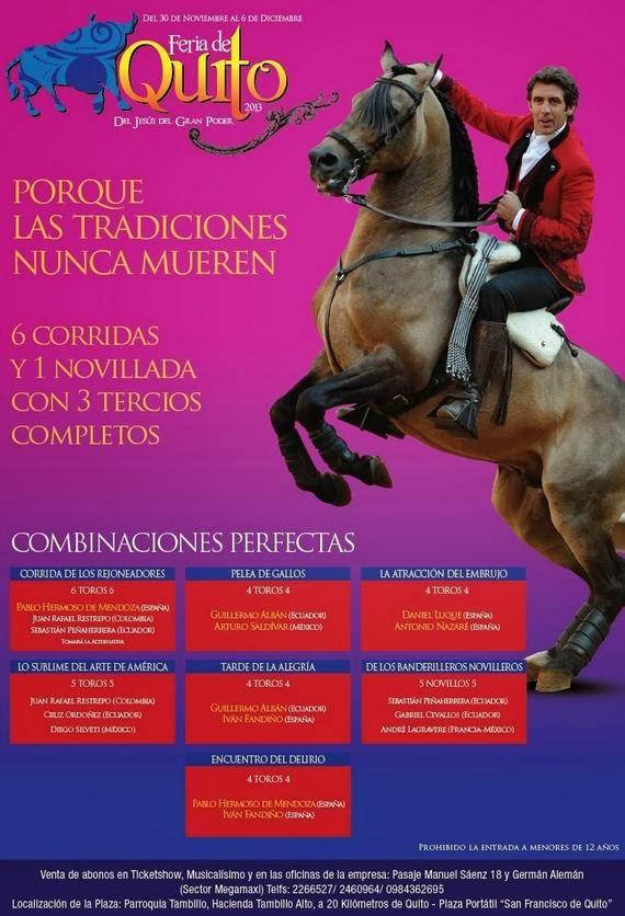 Feria de Quito 2013 del Jesús del Gran Poder
