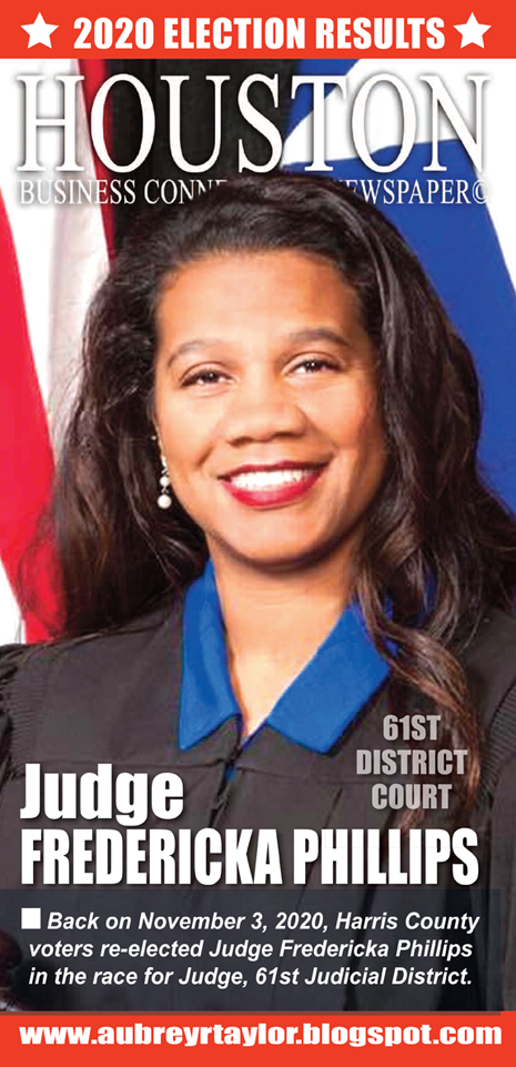 Our client Judge Fredericka Phillips defeated her Republican challenger on November 3, 2020