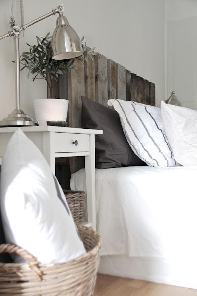 Dibujar un cabecero de cama decorar tu casa es - Cabecero cama palets ...