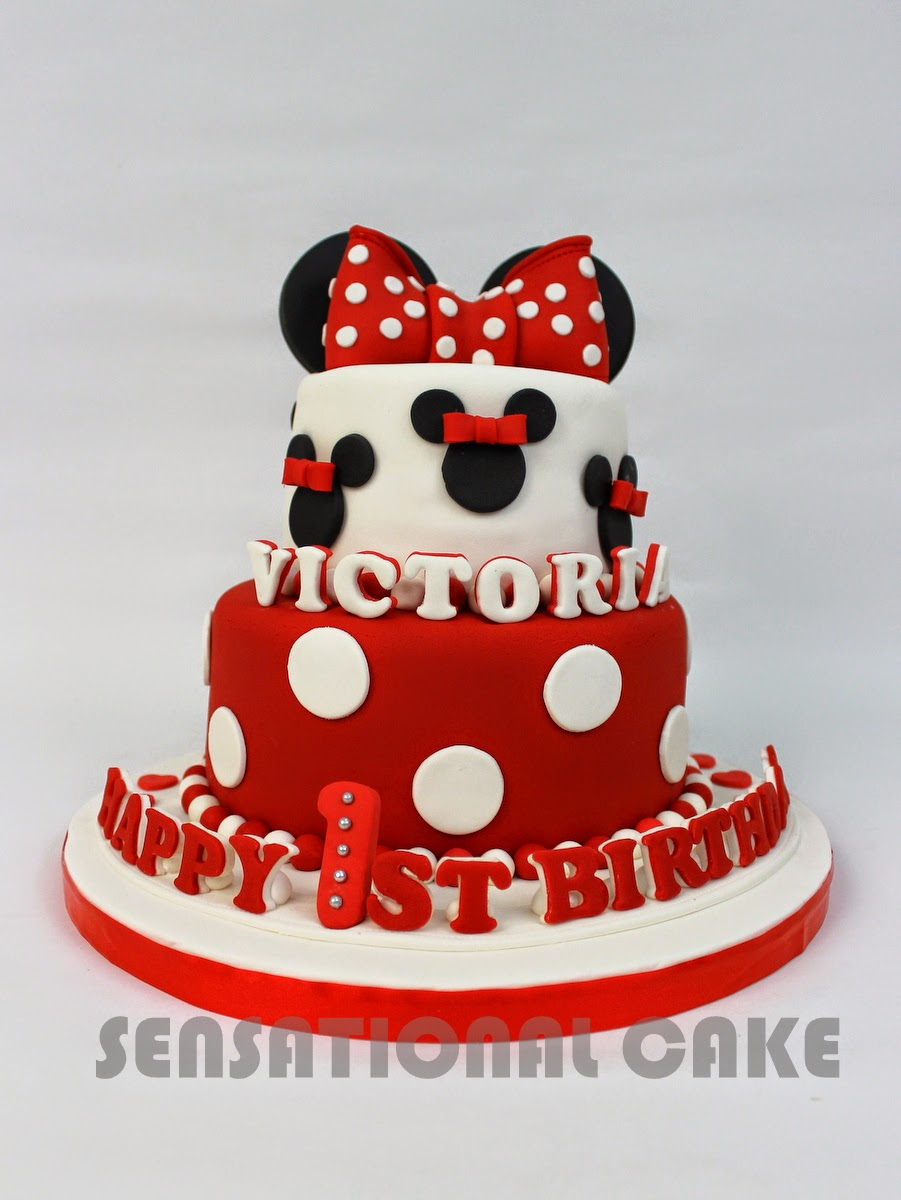 The Sensational Cakes Minnie Mouse Inspired 3d Art Cake Singapore