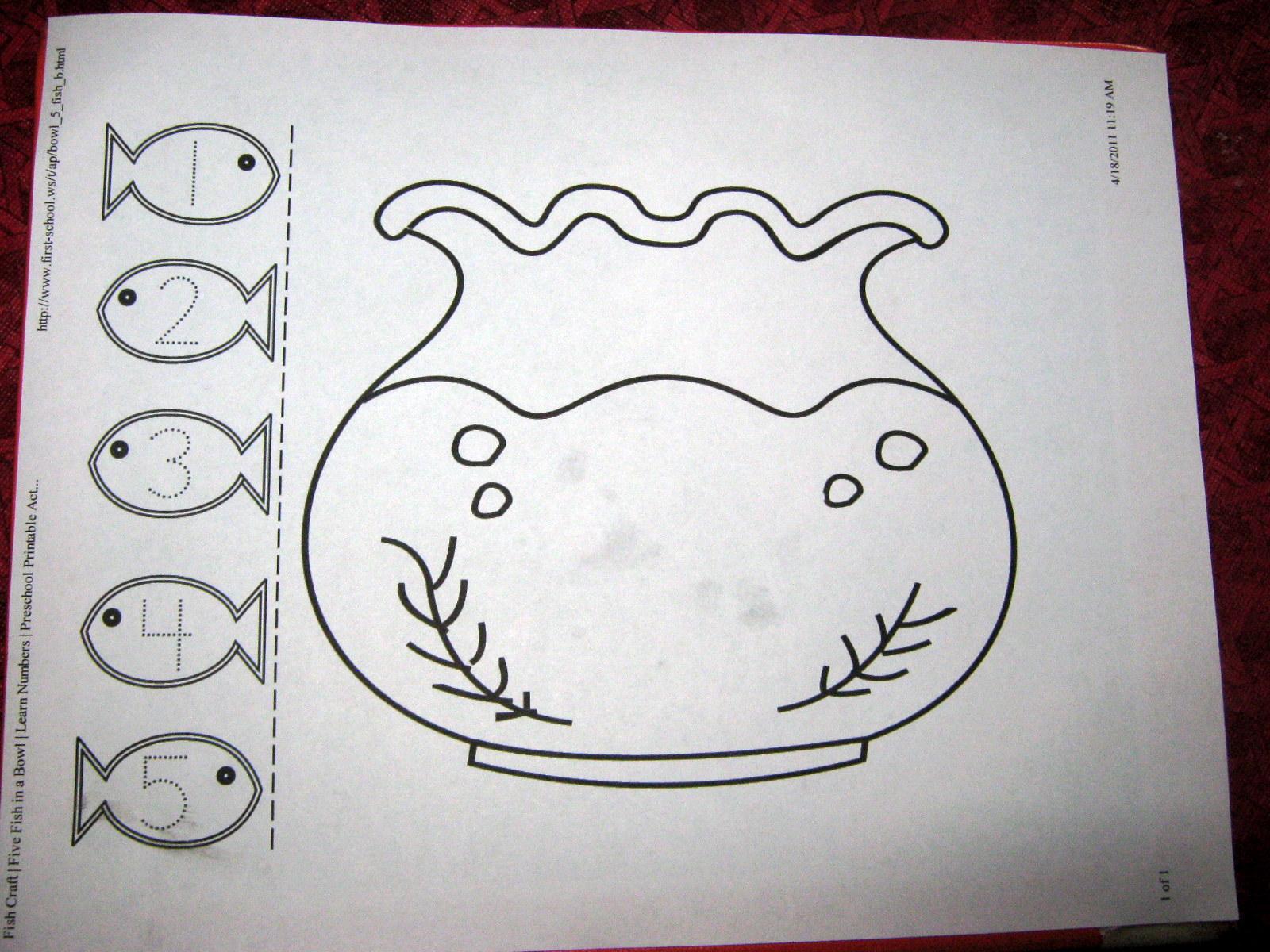 fish bowl template Roho4sensesco
