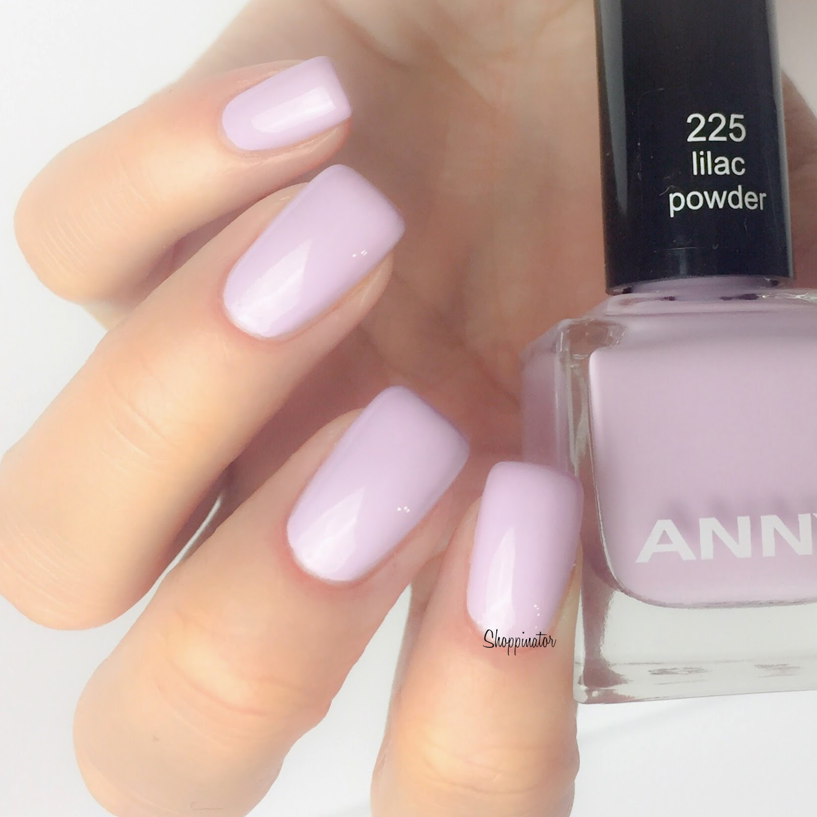 Anny – 'Lilac Powder' Swatches