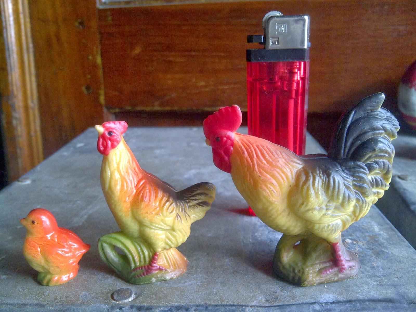 Koleksi Antik Anggoro Solo Patung Ayam Ayaman