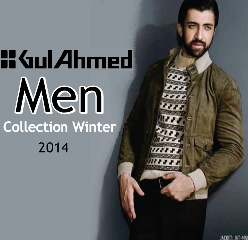 Gul Ahmed Men Winter Collection 2014-15