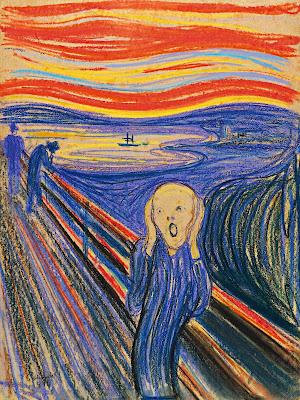 Edvard Munch - Le cri,1895.