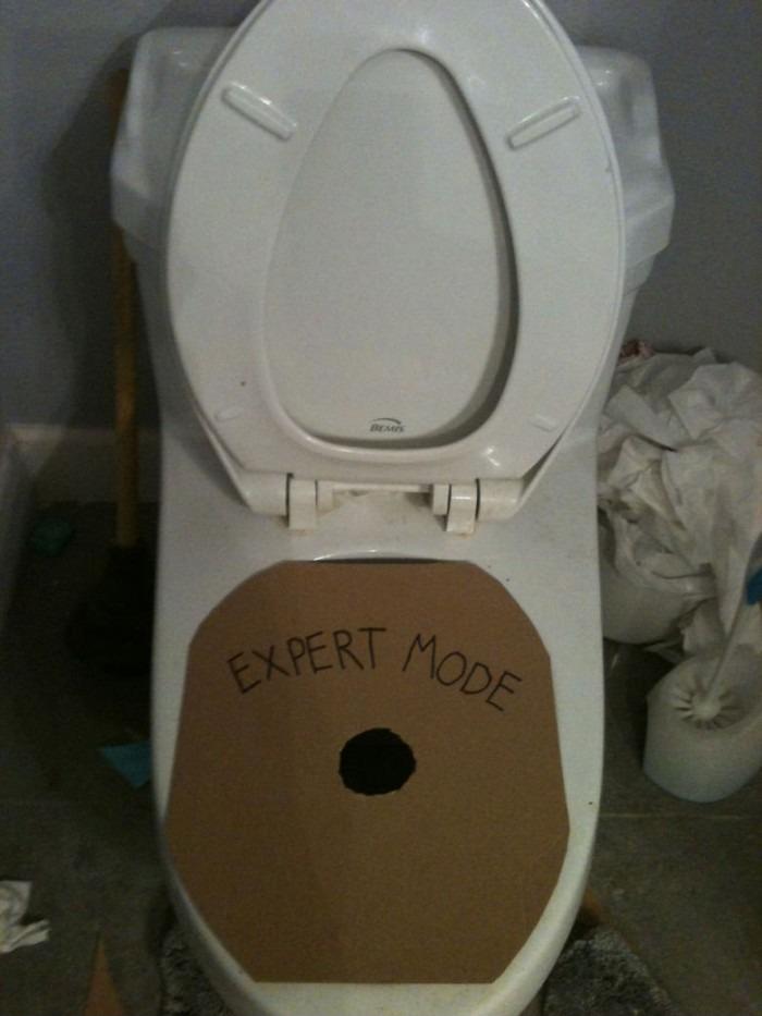 Toilet - Expert Mode