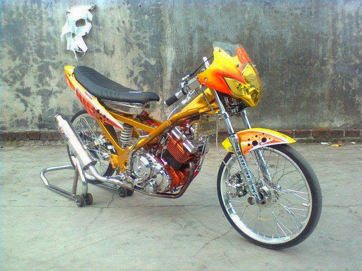modifikasi satria fu 150 cc