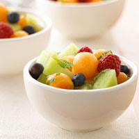 Melon and Berries Salad