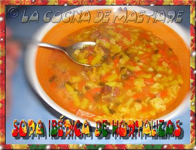 Sopa ibérica de hortalizas Sopa+ib%C3%A9rica+de+hortalizas