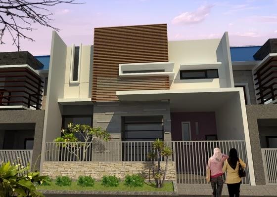 Contoh Desain Eksterior Rumah Minimalis Modern