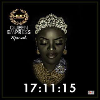 Empress Njamah shares new photos to celebrate her birthday 1e