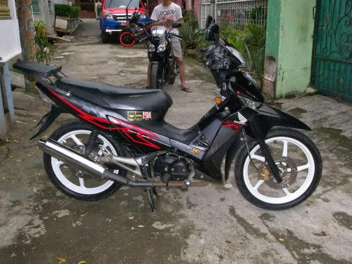 Foto Gambar Modifikasi Honda Supra X 125