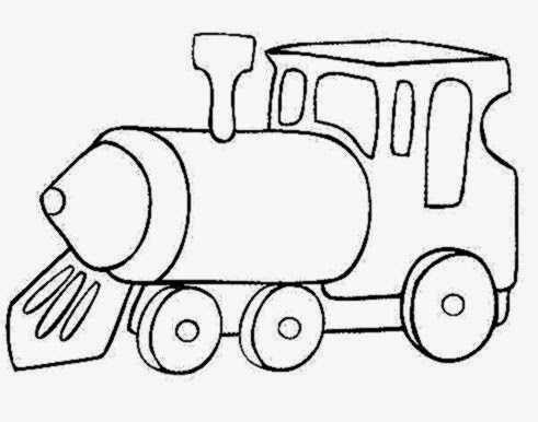 Coloring pictures of trains free coloring pictures for Christmas train coloring page