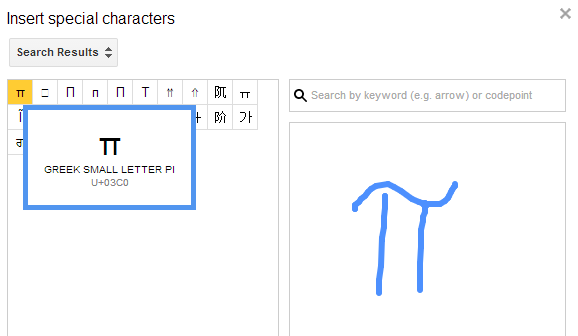 Special Characters Search Engine In Google Drive