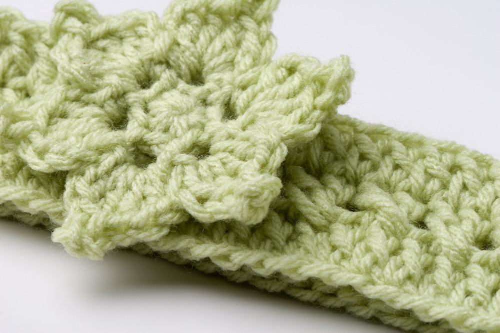 Free Crochet Pattern Headband With Flower : Yarn Twist: Free Patterns