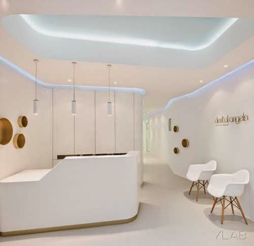 Proyecto De Actividad Reforma Clinica Dental in addition Restaurant Interior Design Nat Fine furthermore Luxury Dental Workplace Styles With Trendy Inspirations together with 2013 10 01 archive likewise Formas Organicas En Blanco Marfil Por Ylab Arquitectos. on dental clinic interior design by ylab