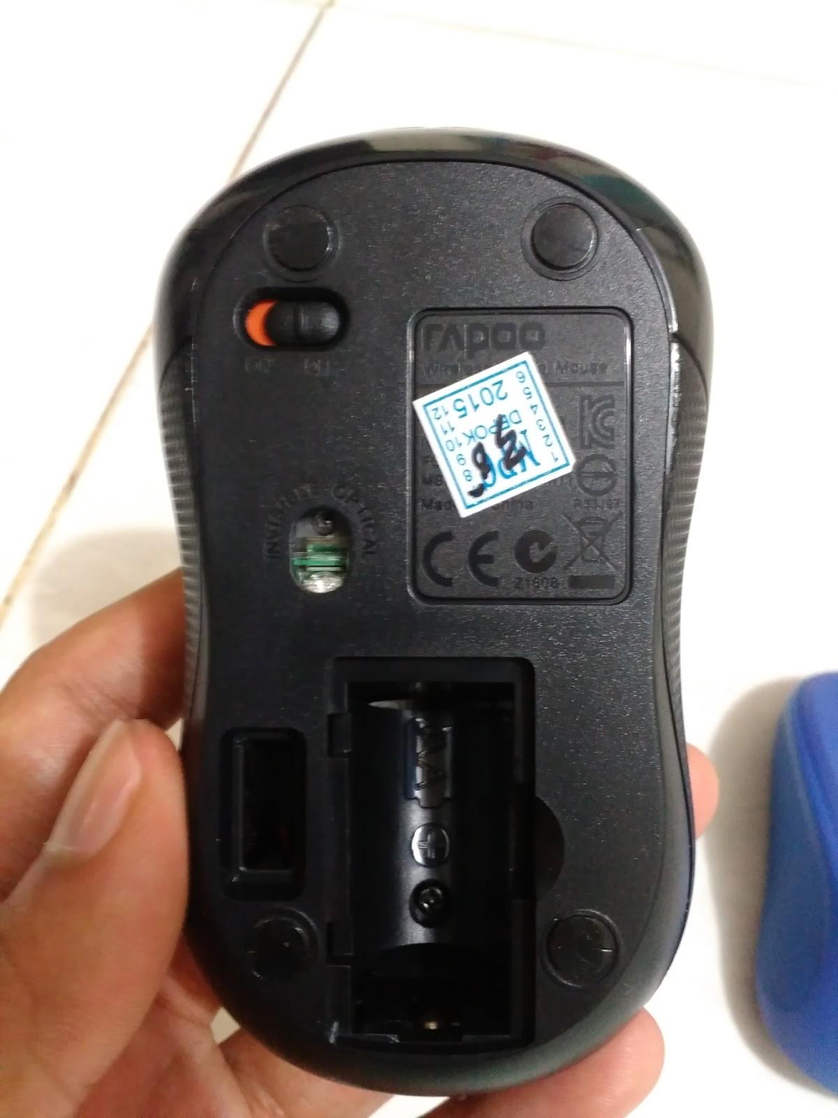 Membandingkan Logitech M235 Dan Rapoo M11 My Timeline Mouse Wireless Sama Menggunakan Sensor Optik 1000 Dpi Maka Peforma Kedua Dalam Menggerakkan Kursor Seimbang Tetapi Dengan Software Khusus Dari