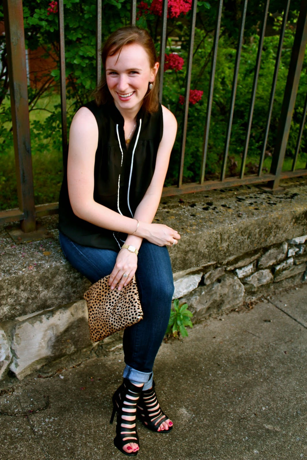 Cheetah Clutch, Ceri Hoover, Citizens of Humanity Jeans, DV Shoes,