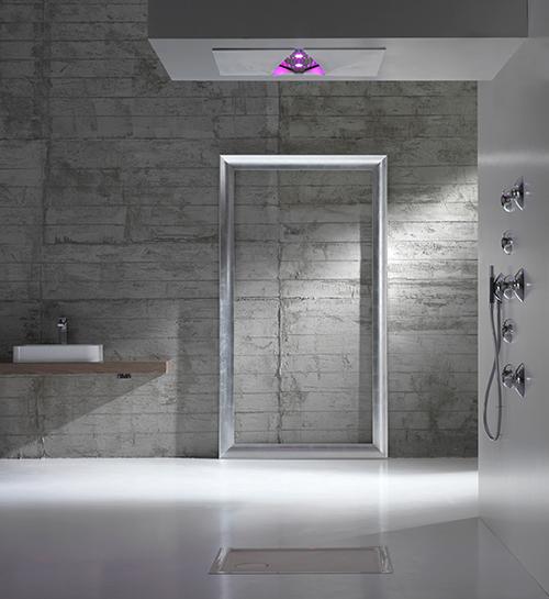 Marzua duchas integradas en el techo de zazzeri - Soffione doccia a soffitto ...