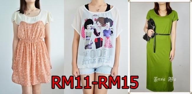RM11-RM15