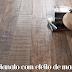 Porcelanato com efeito de madeira, desfrute desse recurso em toda sua casa!