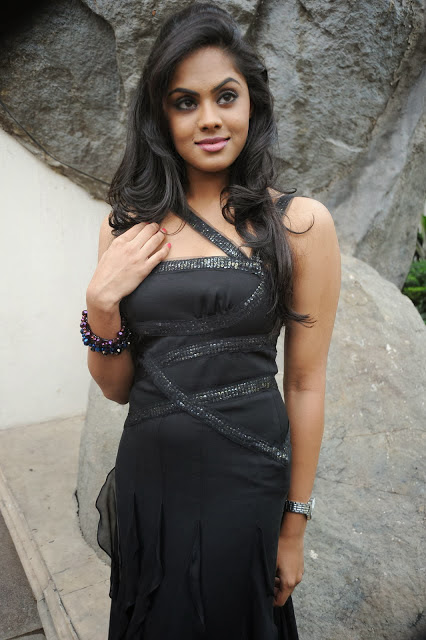 Karthika Nair In Black Dress