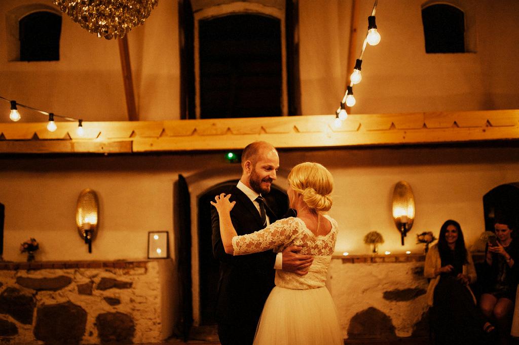 Bröllopsvals i Vallens Säteri