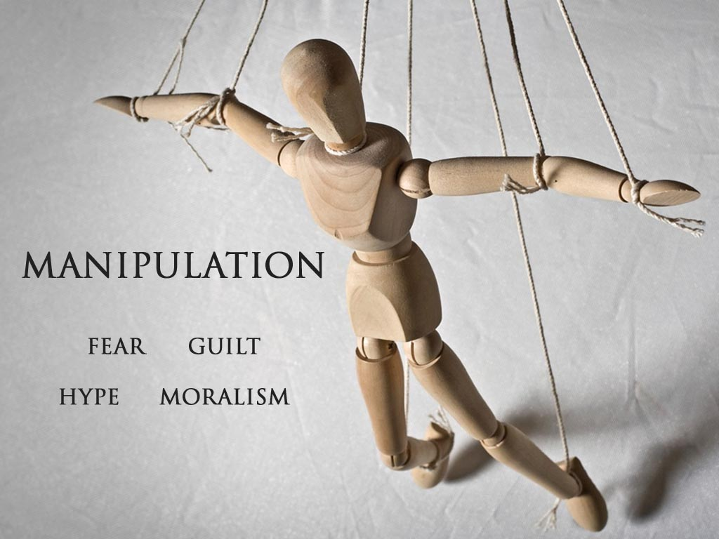 being manipulated